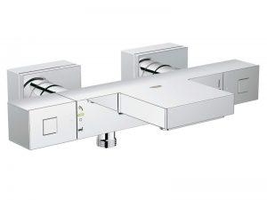 GRT Cube THM baterija za kadu ½'' 34497000. Prodajni saloni PRIMNA d.o.o. Karađorđeva 1 i Ivićeva 8, Tošin bunar u Zemunu gde se nalazi i servis. PRIMNA d.o.o. je licencirani serviser za brendove: Grohe, Hansgrohe, Kludi, Rosan, Rubineta, Ideal Standard, Capo Casa, Metalac, Aquasan, Herz i Mines (Blitz)