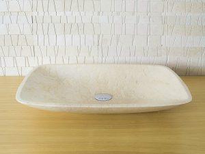 Rubicer nadgradni kameni umivaonik COS6038GL.
