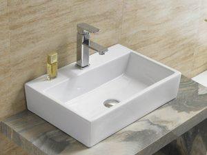 Rubicer nadgradni pravougaoni umivaonik RS266
