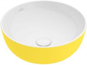 417943BCT4 Villeroy & Boch Artis Nadgradni Umivaonik fi 43cm Lemon