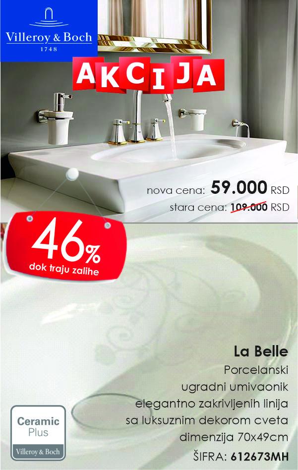 La Belle umivaonik Villeroy & Boch AKCIJA