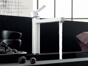 Kludi Bozz baterija slavina za sudoperu bela 389739175.