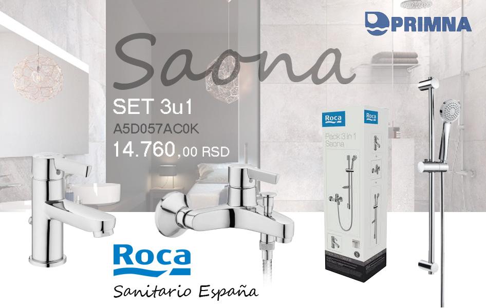 AKCIJA PRIMNA Roca Saona 3u1 A5D057AC0K