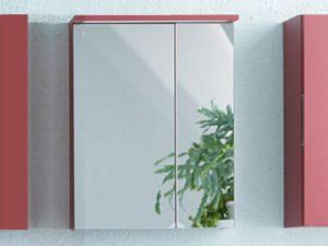Adele toaletni ormarić sa ogledalom i LED lampom OG 60 Kolpa san 507240