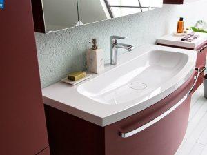 Adele toaletni ormarić sa umivaonikom crveni OUA 70 RED 528640 Kolpa san.