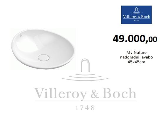 PRIMNA AKCIJA villeroy-boch-lavabo-my-nature